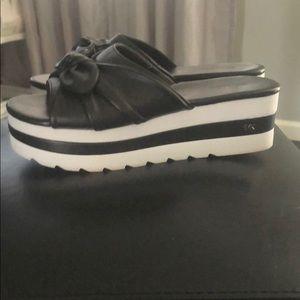 Women's Michael Kors platform sandals size 7.5